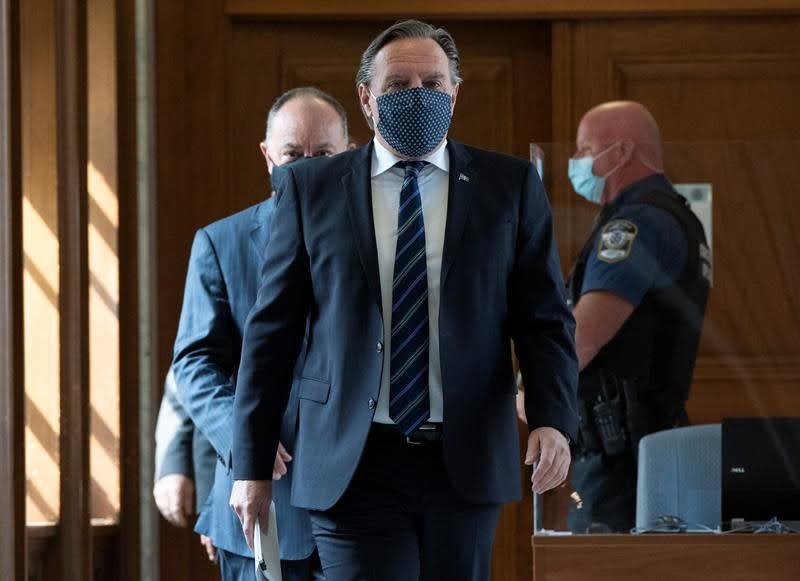 Man charged in connection with alleged online threats against Quebec premier