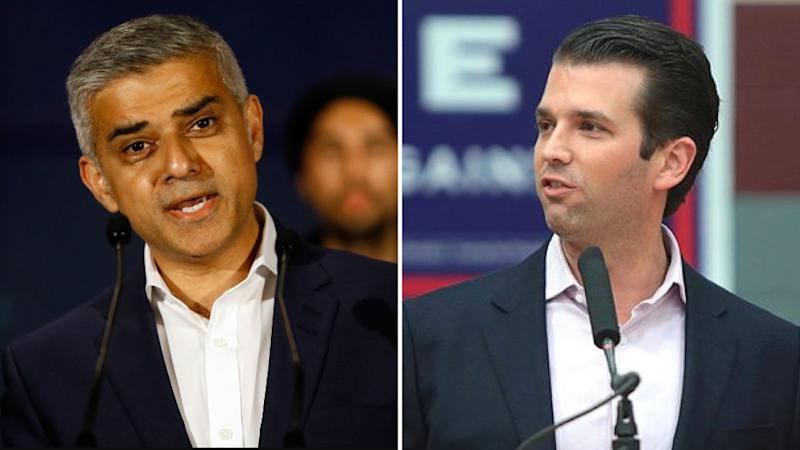 UK Attack: Twitter Incensed at Trump Jr's Insult to London Mayor