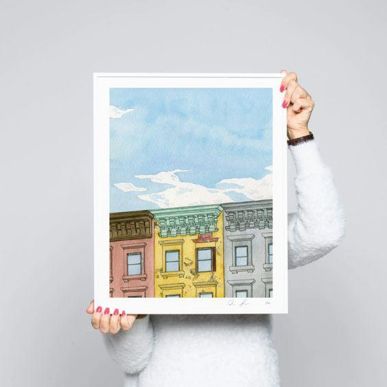 """Another unique housewarming gift? A piece of <a href=""""https://www.architecturaldigest.com/story/affordable-art-online?mbid=synd_yahoo_rss"""" rel=""""nofollow noopener"""" target=""""_blank"""" data-ylk=""""slk:cool wall art"""" class=""""link rapid-noclick-resp"""">cool wall art</a>. For this one, you really have to know their style and aesthetic. If you feel confident, go for it! $320, ABSOLUT Art.. <a href=""""https://www.absolutart.com/us/artist/nick-low/artwork/for-sale/"""" rel=""""nofollow noopener"""" target=""""_blank"""" data-ylk=""""slk:Get it now!"""" class=""""link rapid-noclick-resp"""">Get it now!</a>"""