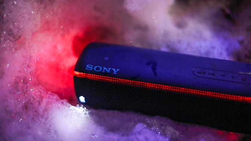 A Sony audio device.