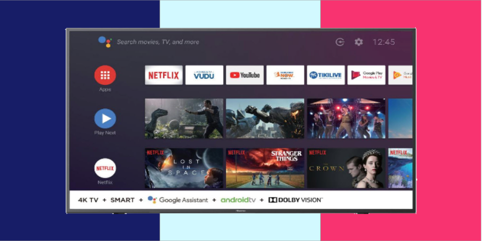 Quick! Save 35 percent on this 58-inch Hisense Smart TV (Photo: HuffPost)