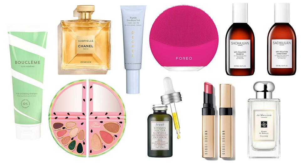 These are the new beauty products launching this month [Photo: Yahoo Style UK]