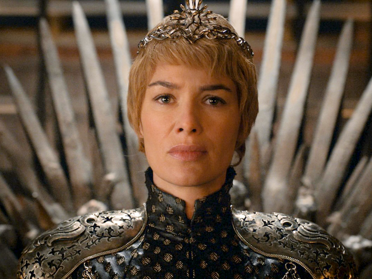 Long reign Queen Cersei... or will she? Source: HBO