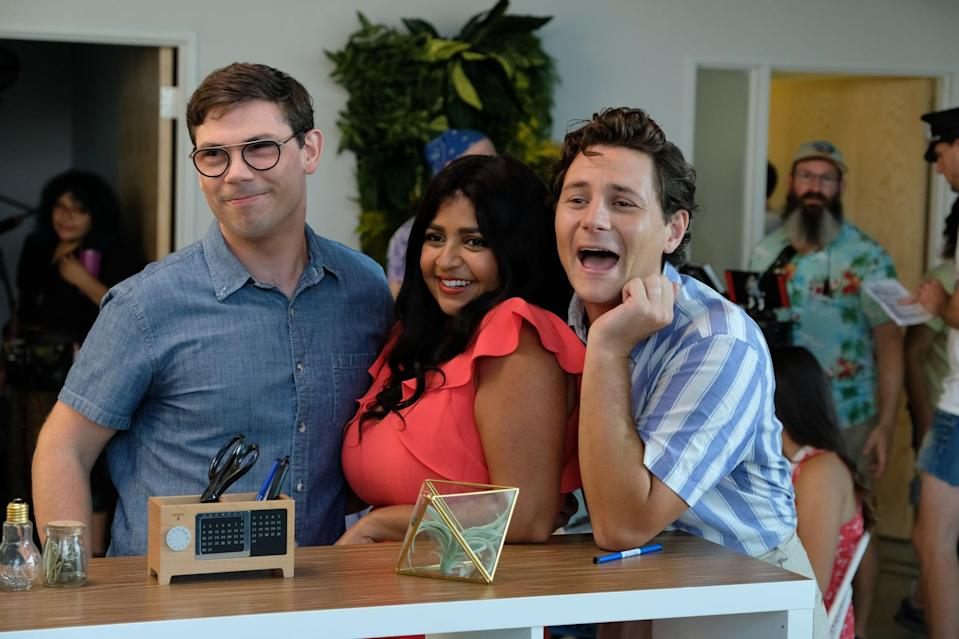 """<p>This uplifting and heartwarming series tells the story of Ryan, <a href=""""https://www.popsugar.com/entertainment/Ryan-OConnell-Special-Netflix-Interview-June-2019-46219928"""" class=""""link rapid-noclick-resp"""" rel=""""nofollow noopener"""" target=""""_blank"""" data-ylk=""""slk:a gay man"""">a gay man</a> with mild cerebral palsy who decides to rewrite his identity and go after the life he really wants.</p> <p><a href=""""https://www.netflix.com/title/80987458"""" class=""""link rapid-noclick-resp"""" rel=""""nofollow noopener"""" target=""""_blank"""" data-ylk=""""slk:Watch Special on Netflix now"""">Watch <strong>Special</strong> on Netflix now</a>.</p>"""