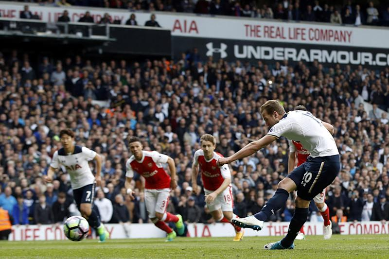 King Kane | Harry Kane has scored six goals in his last six north London derbies: AP