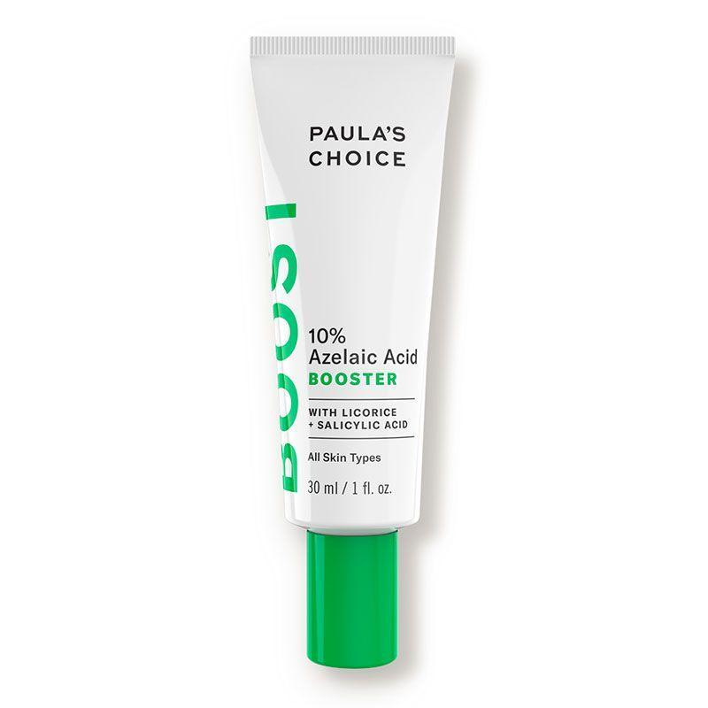 """<p><strong>Paula's Choice</strong></p><p>dermstore.com</p><p><strong>$36.00</strong></p><p><a href=""""https://go.redirectingat.com?id=74968X1596630&url=https%3A%2F%2Fwww.dermstore.com%2Fproduct_10%2BAzelaic%2BAcid%2BBooster_77340.htm&sref=https%3A%2F%2Fwww.cosmopolitan.com%2Fstyle-beauty%2Fbeauty%2Fg35089763%2Fbest-rosacea-skin-care-products%2F"""" rel=""""nofollow noopener"""" target=""""_blank"""" data-ylk=""""slk:Shop Now"""" class=""""link rapid-noclick-resp"""">Shop Now</a></p><p>Not familiar with <a href=""""https://www.cosmopolitan.com/style-beauty/beauty/a34371738/azelaic-acid-products/"""" rel=""""nofollow noopener"""" target=""""_blank"""" data-ylk=""""slk:azelaic acid"""" class=""""link rapid-noclick-resp"""">azelaic acid</a>? You should be, because the ingredient is one of the best out there for treating rosacea. It <strong>s</strong><strong>mooths bumps and rough texture, reduces flushing and swelling, and helps brighten your skin tone too</strong>. Try it in this booster serum, which can be used alone or mixed with your moisturizer.</p>"""