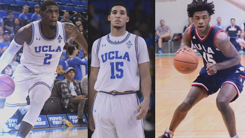 UCLA Basketball Players Could Face 3-10 Years in Prison After They're Accused of Shoplifting in China