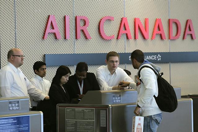 <p><strong>Traditional Carrier</strong><br> No. 5: Air Canada<br> Score: 709 out of 1,000<br> (Getty) </p>