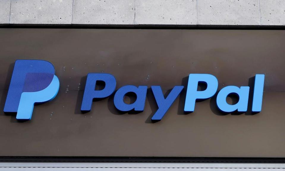 "<span class=""element-image__caption"">Did you use PayPal?</span> <span class=""element-image__credit"">Photograph: Fabrizio Bensch/Reuters</span>"