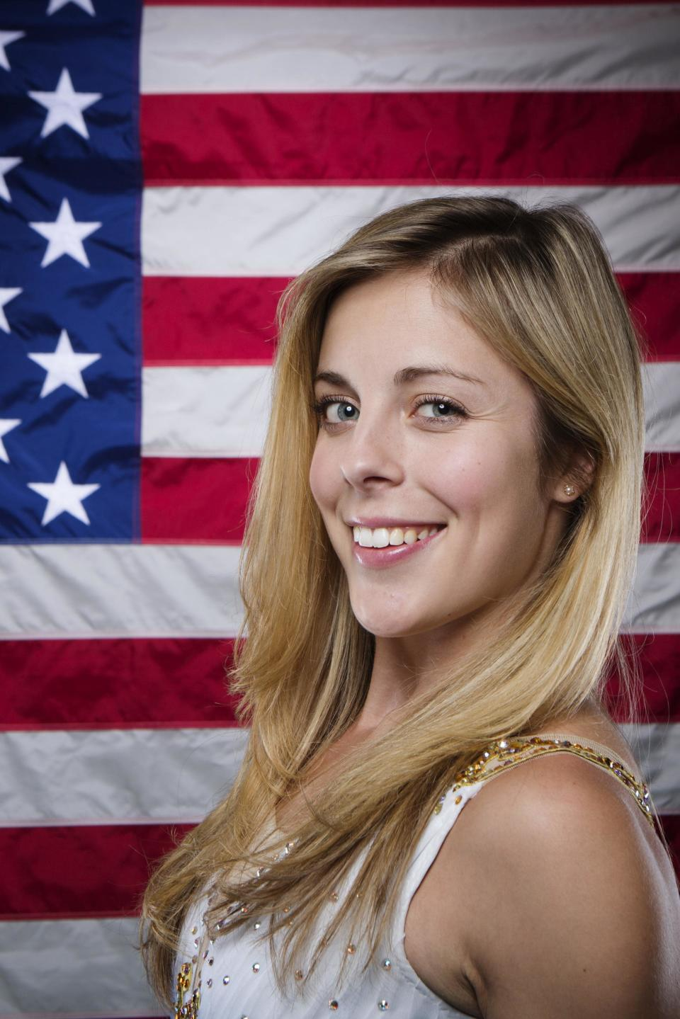Olympic figure skater Ashley Wagner poses for a portrait during the 2013 U.S. Olympic Team Media Summit in Park City, Utah September 30, 2013. REUTERS/Lucas Jackson (UNITED STATES - Tags: SPORT OLYMPICS FIGURE SKATING PORTRAIT)