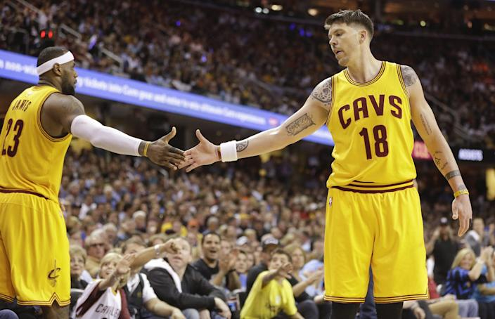 LeBron James and Mike Miller