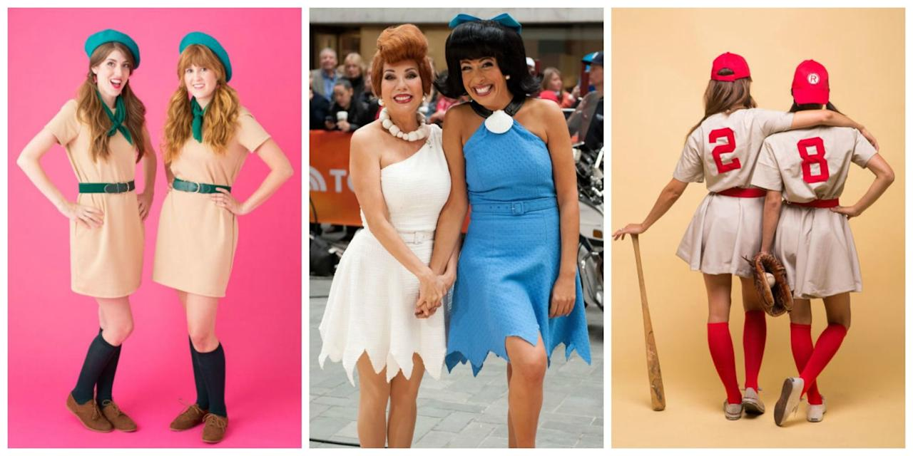 10 last-minute halloween costumes for you and your bff