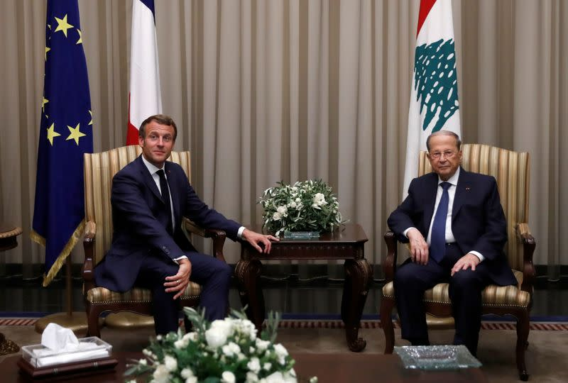 Macron says he will press for Lebanon reform after new PM named
