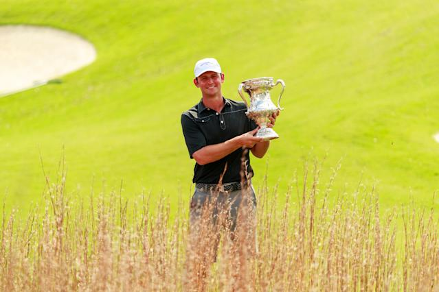 Meet Matt Parziale, the firefighter who will play in the Masters, thanks to his victory last fall at the U.S. Mid-Amateur Championsihp