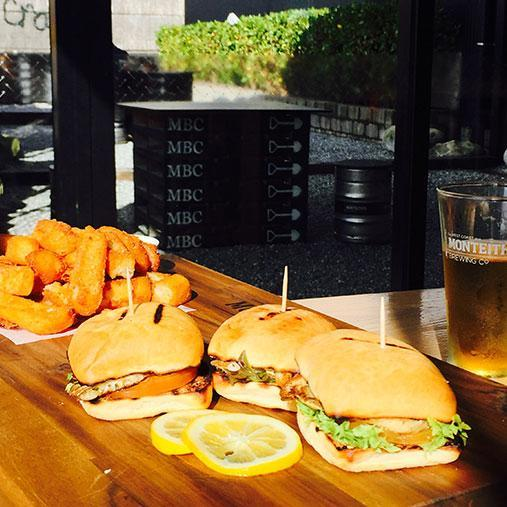 <p>If you thought Monteith's was all about the brews, think again. This brewery found in the sleepy town of Greymouth boasts an incredible tapas menu, including fish sliders and quite possibly the most deliciously crunchy chips known to man.</p>