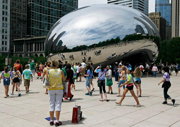 If you post an online selfie from a Chicago landmark such as The Bean today after you posted from a COVID-19 hot spot such as Florida a few days ago, your post may be used to prove you violated the city's travel quarantine rule.
