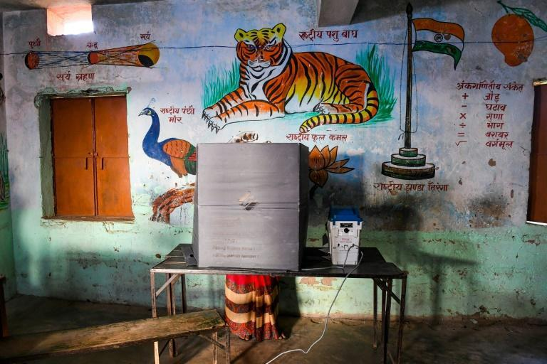 The election comes as India, the world's second most-infected nation, records between 40,000 and 50,000 new virus cases each day