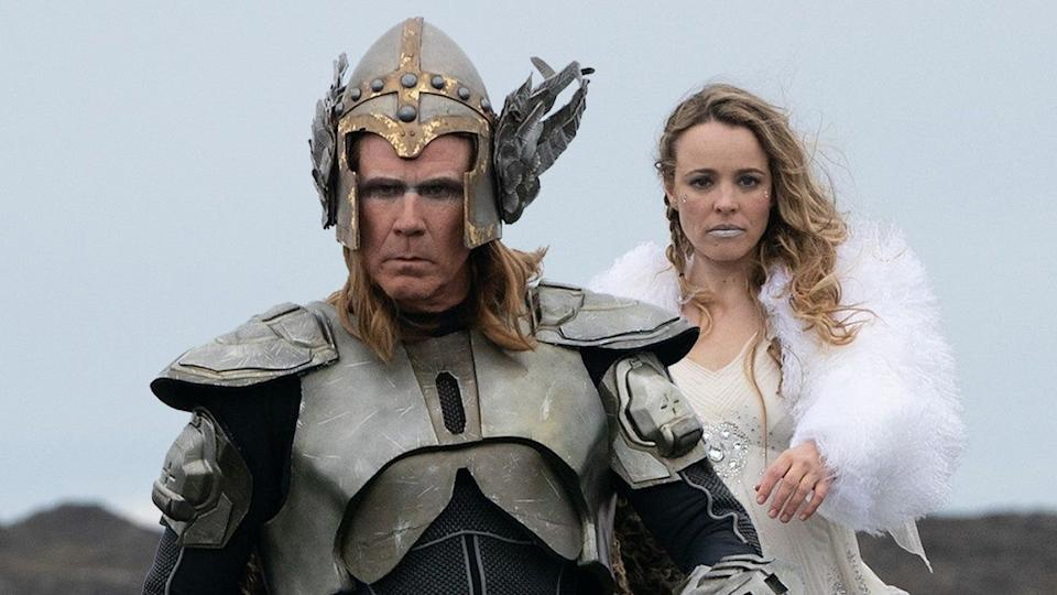 Will Ferrell and Rachel McAdams in 'Eurovision Song Contest: The Story of Fire Saga.' (Photo