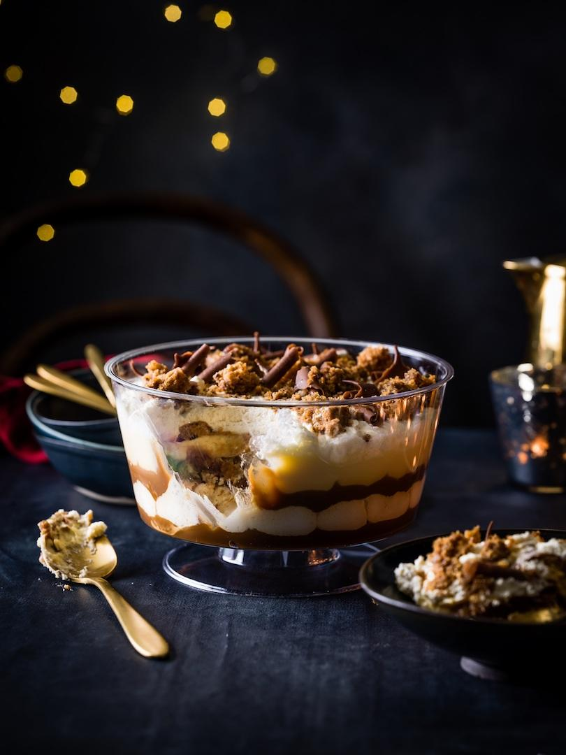 The Sticky Toffee Pudding Trifle, £12 [Photo: M&S]