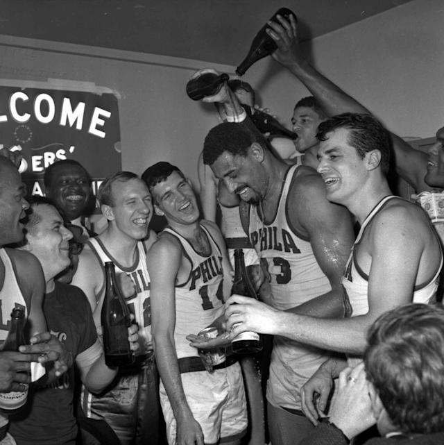<p>The Boston Celtics won nine of 10 championships handed out in the 1960s, but none of those teams came close to dominating the league like the '67 'Sixers did. Led by MVP Wilt Chamberlain, who averaged nearly a triple-double in a facilitator role, Philly averaged 125 points and started the season 46-4. The Sixers ended Boston's eight-year title streak in the Eastern Conference finals before knocking off Rick Barry and the Warriors in a hard-fought Finals. </p>