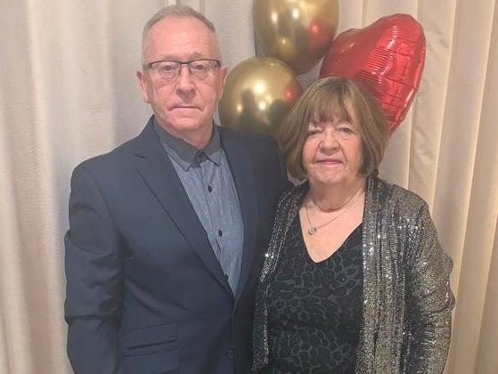 <p>Elizabeth Webb, pictured with her husband, Steven, had unnecessary surgery at the hands of Ian Paterson</p> ( )