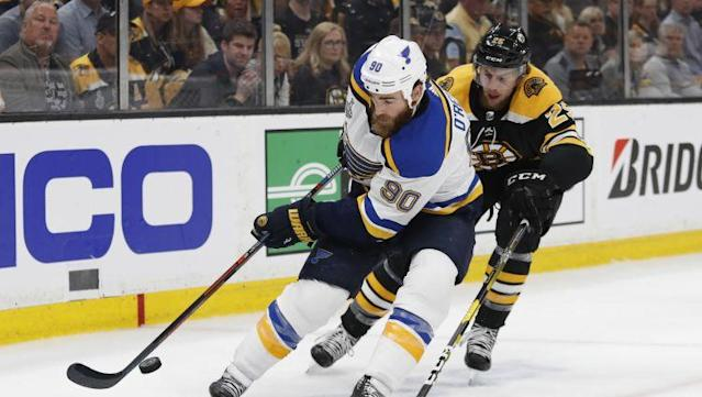 Ryan O'Reilly's first season with the St. Louis Blues could not have played out more perfectly.