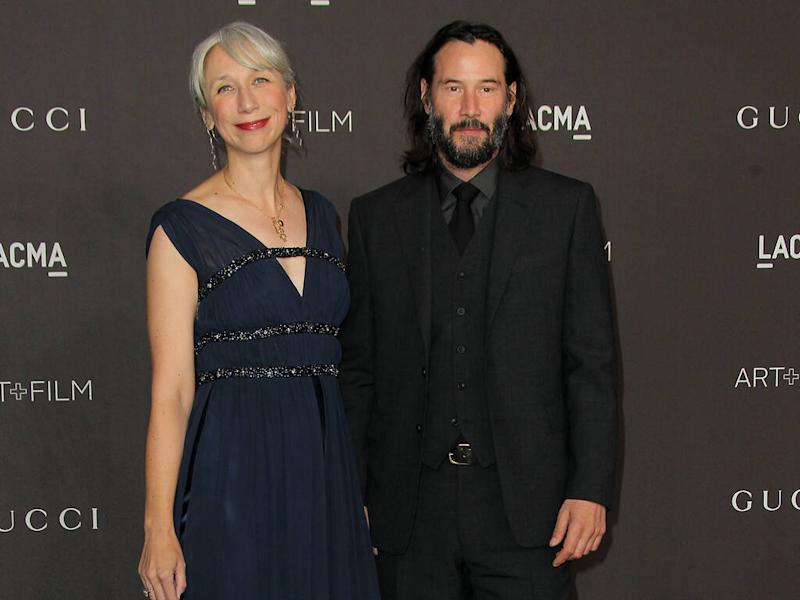 Keanu Reeves has been dating artist girlfriend 'for years'