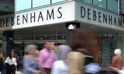 Debenhams shareholders may face wipe out in restructuring