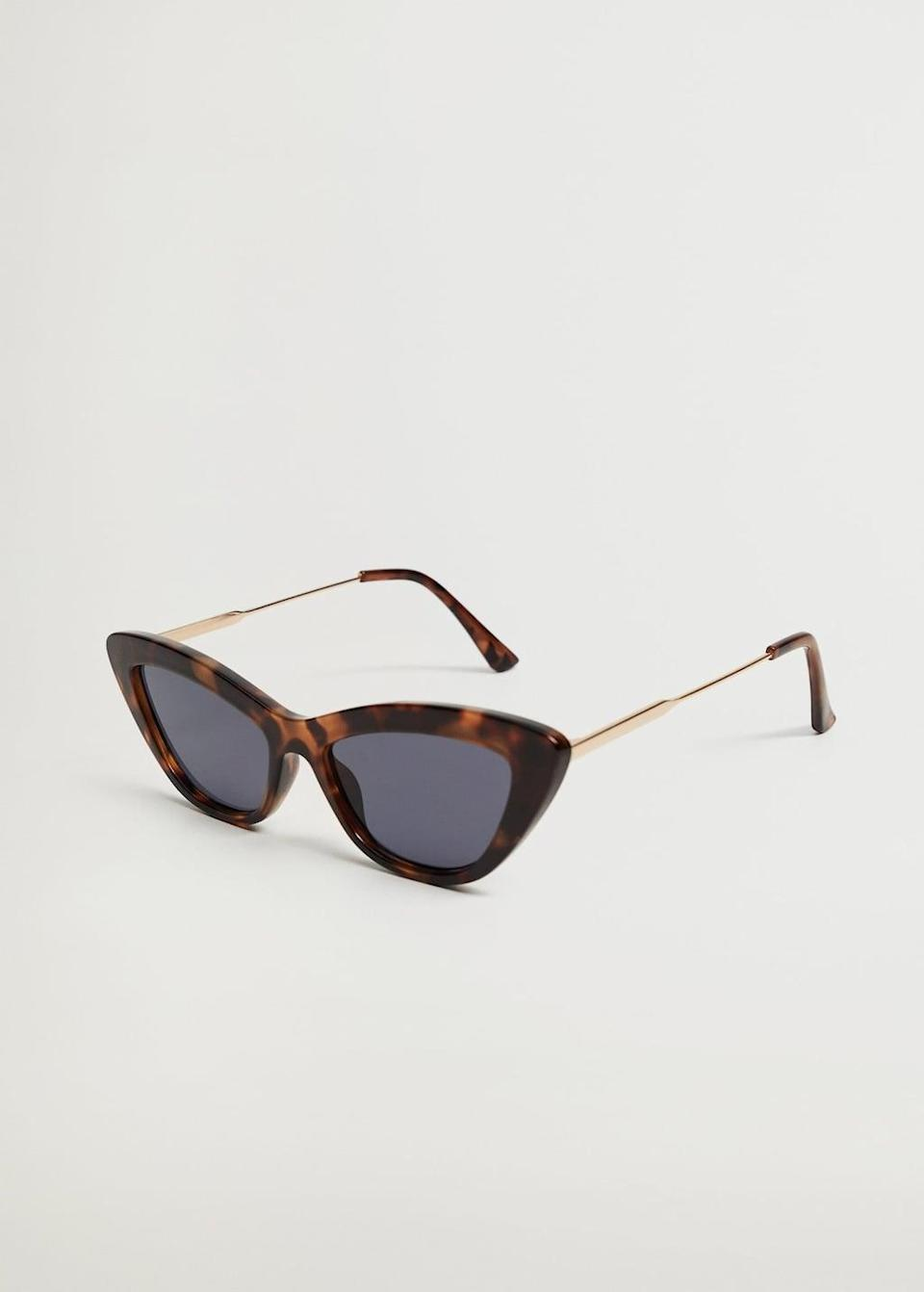 <p>These <span>Mango Cat-eye Sunglasses</span> ($40) will add a cool touch to any ensemble.</p>