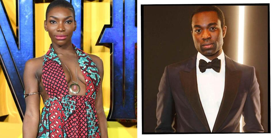 """<p>Another drama school pair who ended up working together was Michaela Coel and Paapa Essiedu who became friends after attending the Guildhall School of Music and Drama. Coel later ended up casting Essiedu as the part of Kwame in her critically-acclaimed drama I May Destroy You.</p><p>Speaking to <a href=""""https://www.vanityfair.com/hollywood/2020/07/i-may-destroy-you-paapa-essiedu-interview"""" rel=""""nofollow noopener"""" target=""""_blank"""" data-ylk=""""slk:Vanity Fair"""" class=""""link rapid-noclick-resp"""">Vanity Fair</a> in 2020, Essiedu said of Coel: 'Her personality is so massive. She's a very special person.'</p>"""