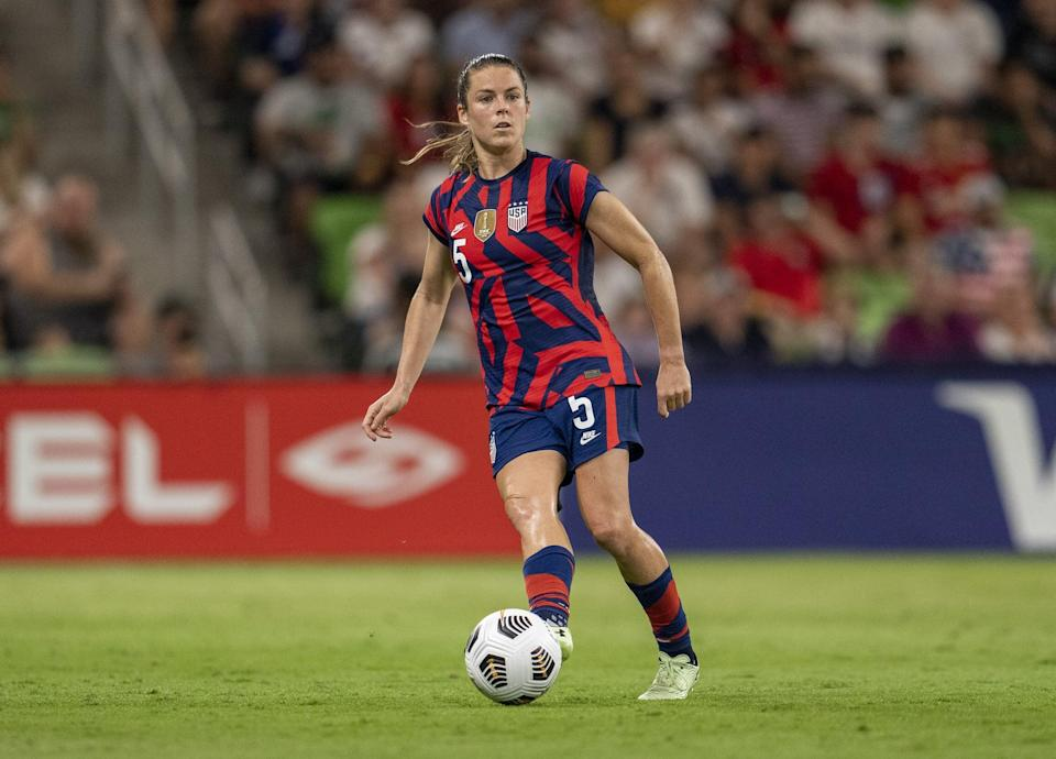 <p><strong>Position:</strong> defender</p> <p><strong>Hometown:</strong> Fayetteville, GA</p> <p><strong>Club:</strong> Washington Spirit</p> <p><strong>Olympic appearances:</strong> London 2012, Rio 2016</p> <p>O'Hara is a two-time World Cup champion and a one-time Olympic gold medalist, making her third appearance at the Games.</p>