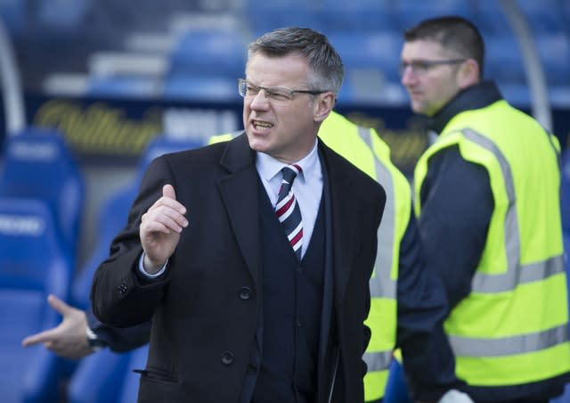 Stewart Robertson sits on the Rangers and SPFL boards (PA)