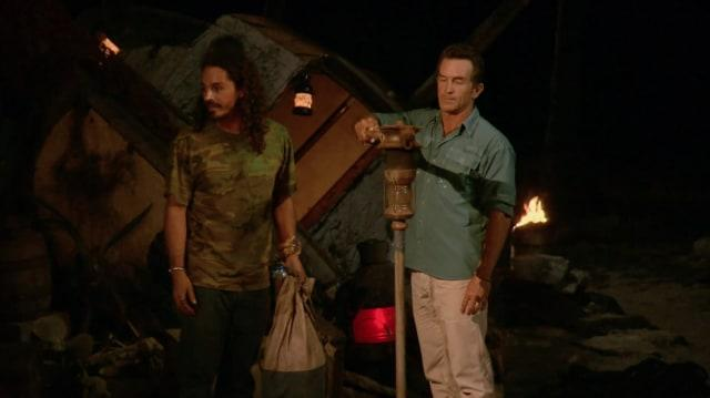 Ozzy Lusth voted off Survivor: Game Changers