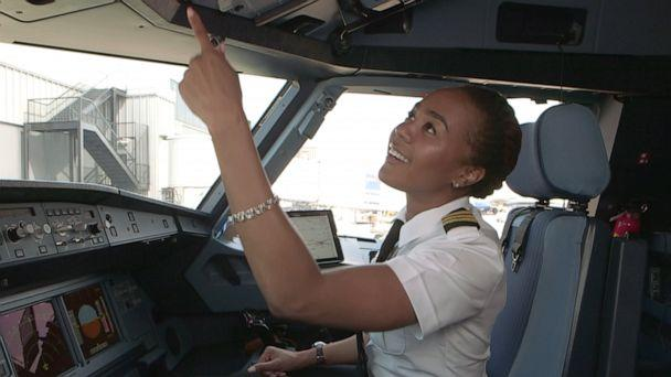 PHOTO: Representation makes a heck of a difference in deciding what people can and cannot do,' Grayson said. SOS's mission is to 'develop pathways and partnerships to increase the number of black women in the professional pilot career field.' (Sisters of the Skies)
