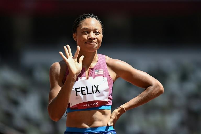 Allyson Felix is the only woman in Olympic history with six athletics golds