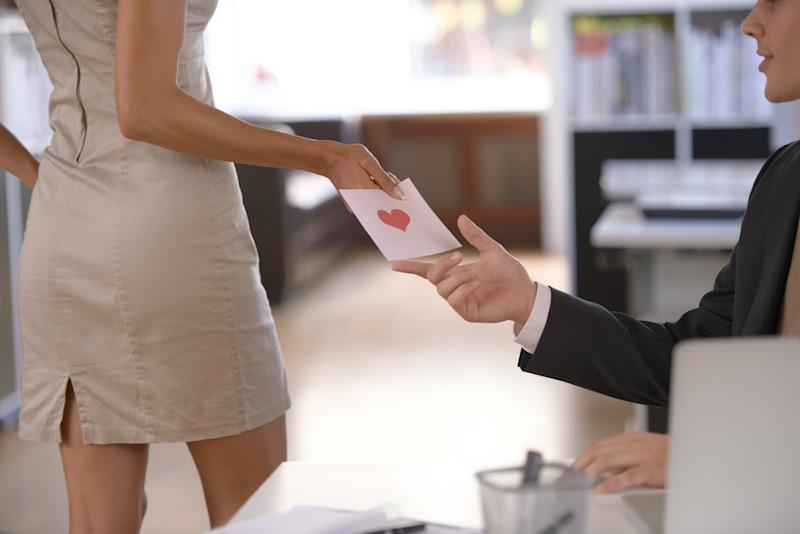 Do you have an office crush? Image: Getty