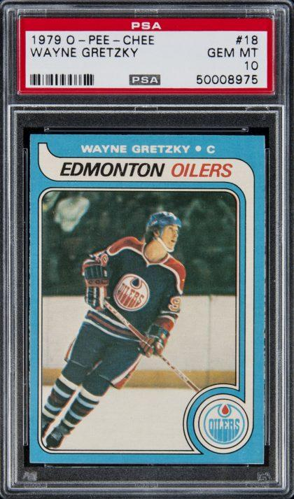 Wayne Gretzky Rookie Card Sells For Record 465k At Auction