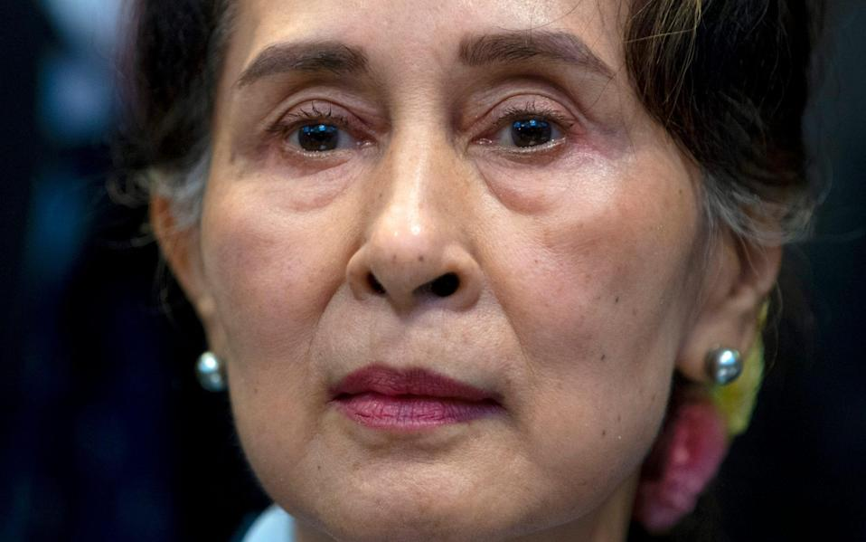 Aung San Suu Kyi has been jailed, while her allies form a government-in-exile