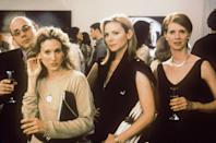 """<p>The very first episode of <em>Sex and the City</em> premiered <a href=""""https://www.elle.com/sex-and-the-city-20th-anniversary/"""" rel=""""nofollow noopener"""" target=""""_blank"""" data-ylk=""""slk:over 20 years ago"""" class=""""link rapid-noclick-resp"""">over 20 years ago</a>, and the series is remembered for its larger-than-life fashion and flings. But even more controversial than some of the episodes is the enduring offscreen drama between stars Sarah Jessica Parker (who played Carrie Bradshaw) and Kim Cattrall (who played Samantha Jones). Even since the early days of <em>SATC</em>, there have been rumors of infighting between the pair and speculation has only strengthened with Cattrall's absence from <em>And Just Like That</em>... <a href=""""https://www.elle.com/culture/movies-tv/a35178064/sex-and-the-city-hbo-max-kim-cattrall/"""" rel=""""nofollow noopener"""" target=""""_blank"""" data-ylk=""""slk:an HBO Max limited series revival"""" class=""""link rapid-noclick-resp"""">an HBO Max limited series revival</a> about Carrie, Miranda (Cynthia Nixon), and Charlotte (Kristin Davis).</p><p> Here, a deep dive into the history of this supposed feud, which rages on in 2021.</p>"""