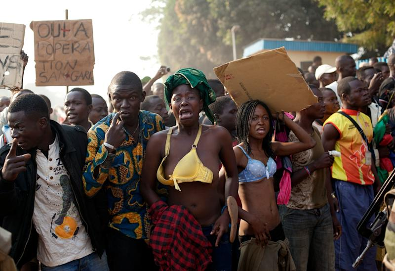 2 people lynched in central african republic