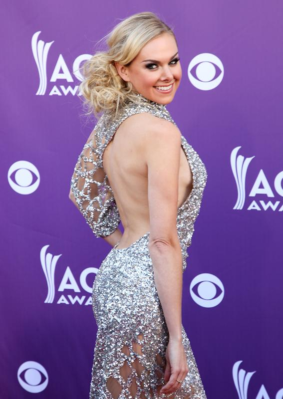 LAURA BELL BUNDY, Live from the RAM Red Carpet, 47th Annual ACM Awards, Las Vegas, NV