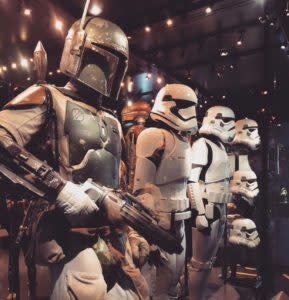 Characters Boba Fett and stormtroopers. Photo: Star Wars Identities/Facebook