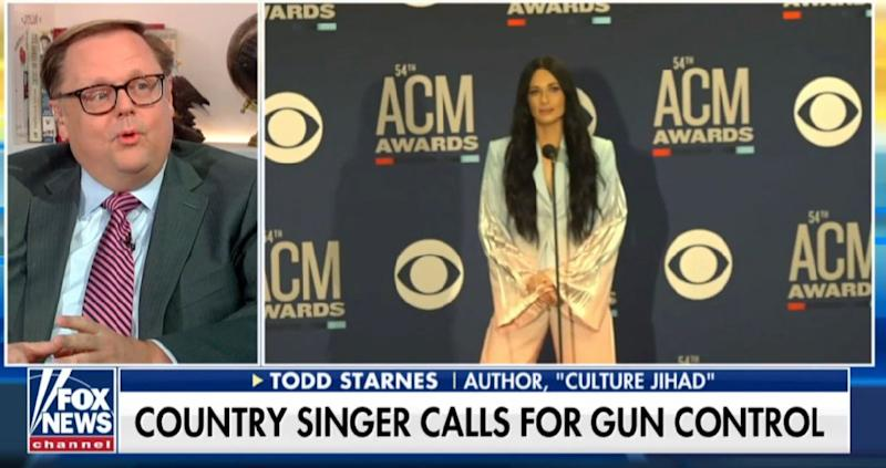 """Fox & Friends is mad at Kacey Musgraves: """"Don't talk politics – sing!"""""""