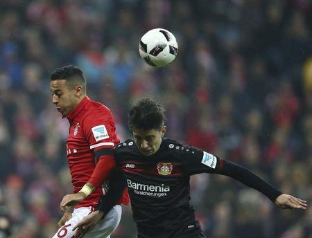 Football Soccer - Bayern Munich v Bayer Leverkusen