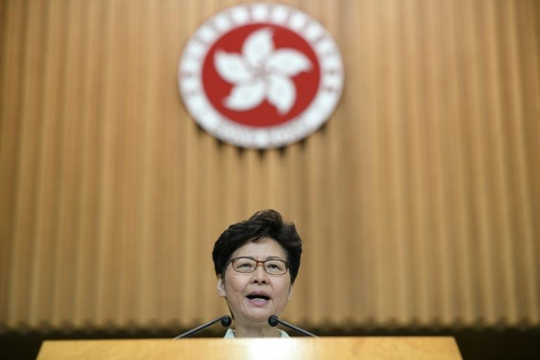 Hong Kong leader Carrie Lam accused US Senator Josh Hawley of making 'irresponsible and unfounded' comments about the city