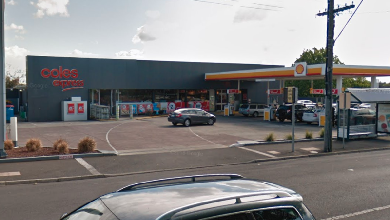 A Google Maps still of the Coles Express in Ashburton, Melbourne.