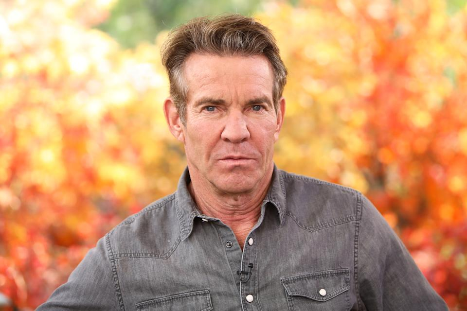 Actor Dennis Quaid took to his Instagram page on Saturday to refute claims that his PSA and interview with Dr. Anthony Fauci was part of a campaign to re-elect President Donald Trump. (Photo: Paul Archuleta/Getty Images)
