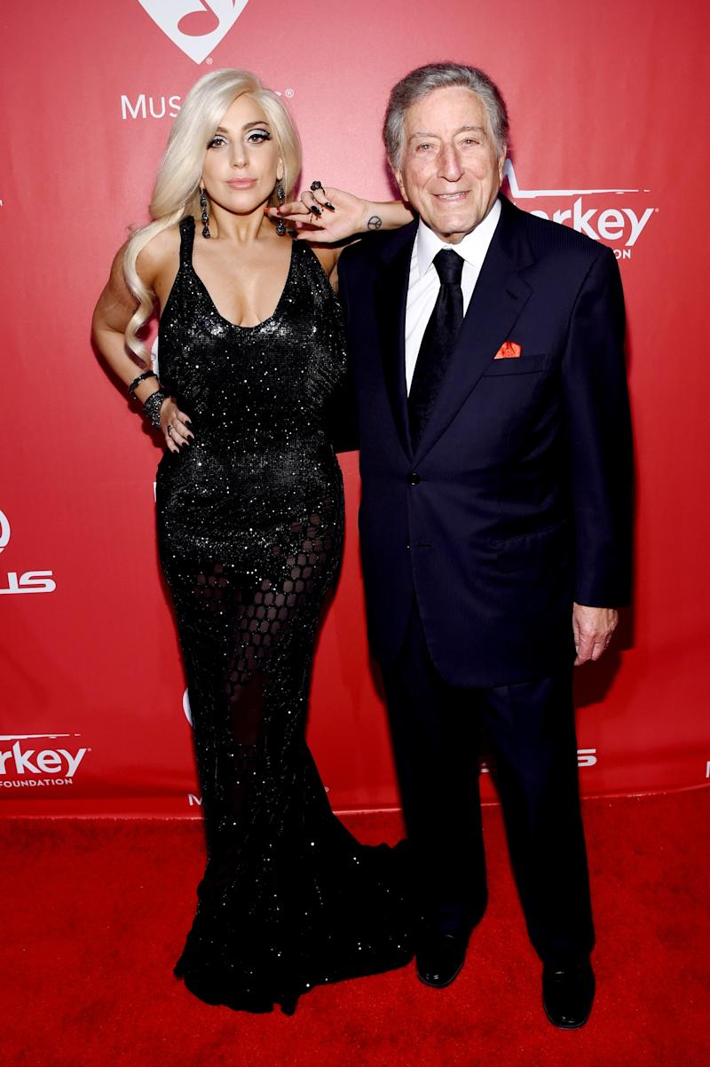 Entering the era of polished, elegant, and jazz Gaga for her collaboration album with Tony Bennett.