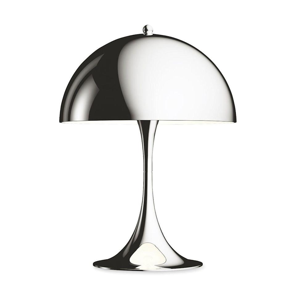 "<p><strong>Online Only</strong></p><p>moma.org</p><p><strong>$725.00</strong></p><p><a href=""https://store.moma.org/for-the-home/home/lighting/panthella-mini-table-lamp/802415-802423.html"" rel=""nofollow noopener"" target=""_blank"" data-ylk=""slk:Shop Now"" class=""link rapid-noclick-resp"">Shop Now</a></p><p>A shining addition to your work-from-home setup inspired by Kusama's enchanting ""Narcissus Garden"" installation at NYBG. </p>"