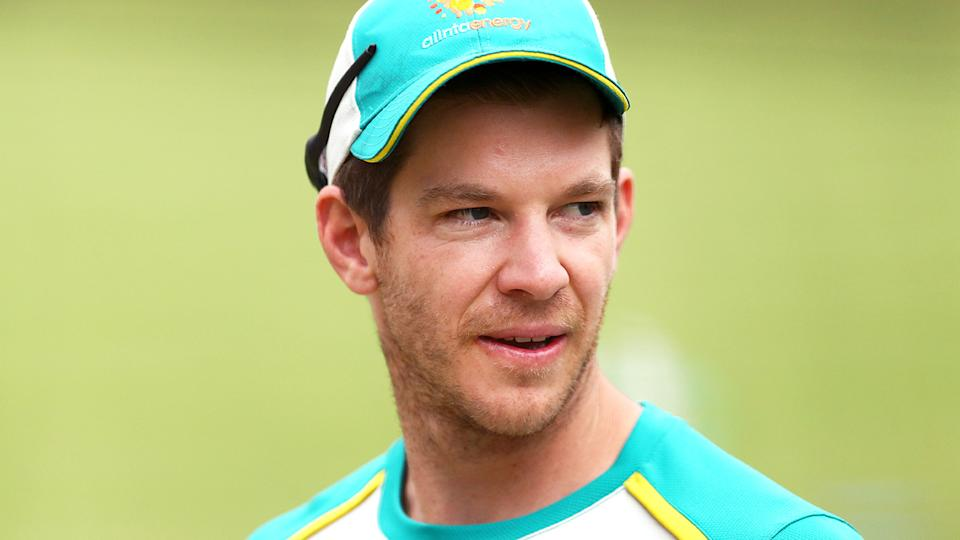 Tim Paine has hinted at growing tensions between Australia and India ahead of the New Year's Test at the SCG. (Photo by Kelly Defina/Getty Images)